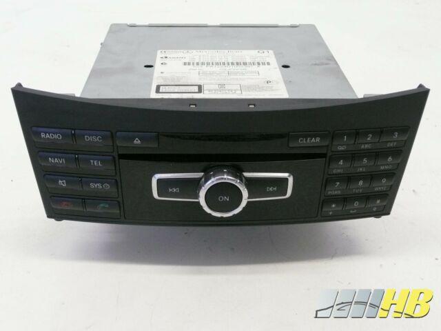 Bediengerät Radio Audio 20 Mercedes E-Klasse W212 A 2129002323