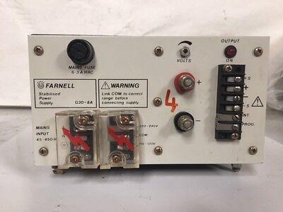 Weir Marconi MI 0-30V 6A DC Power supply Not Farnell PSU