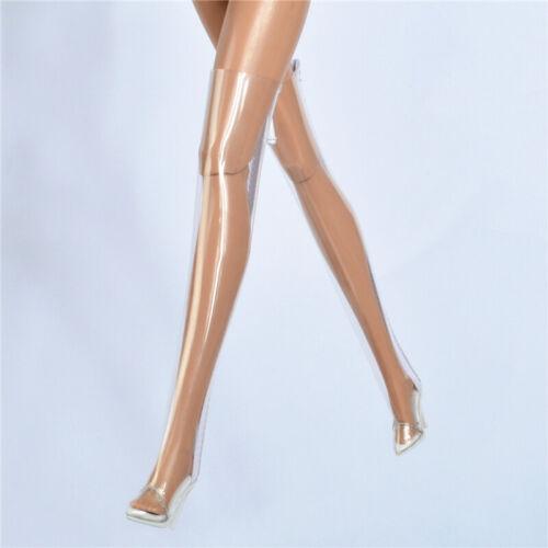 Clear transparent boots fit FR2 FR6.0 NU.face 3.0 Fashion royaltypoppy parke