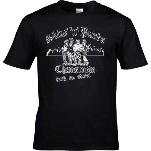 Skins /& Punks Punkrock S-XXL Skinhead Punkshirt Oi CHAOSCREW T-Shirt NEU Gr