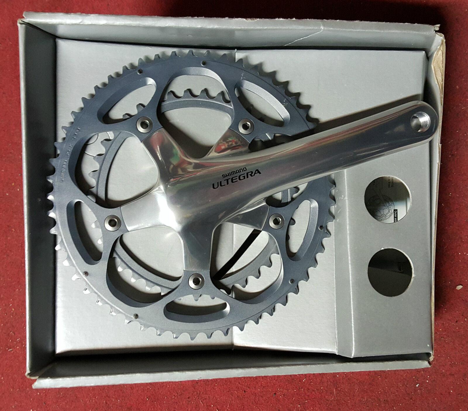 Guarnitura bici Shimano Ultegra FC-6600 53-39 t 172.5 170 10 bike crankset speed