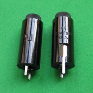 SCI R3-24 Negro 20 mm Portafusibles PCB vertical 10 A 250 V