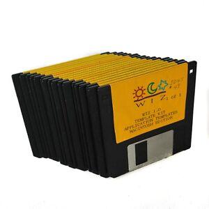 Apple-II-2-GS-Software-Lot-3-5-Disk-WIZ-Power-Point-Macintosh-Template