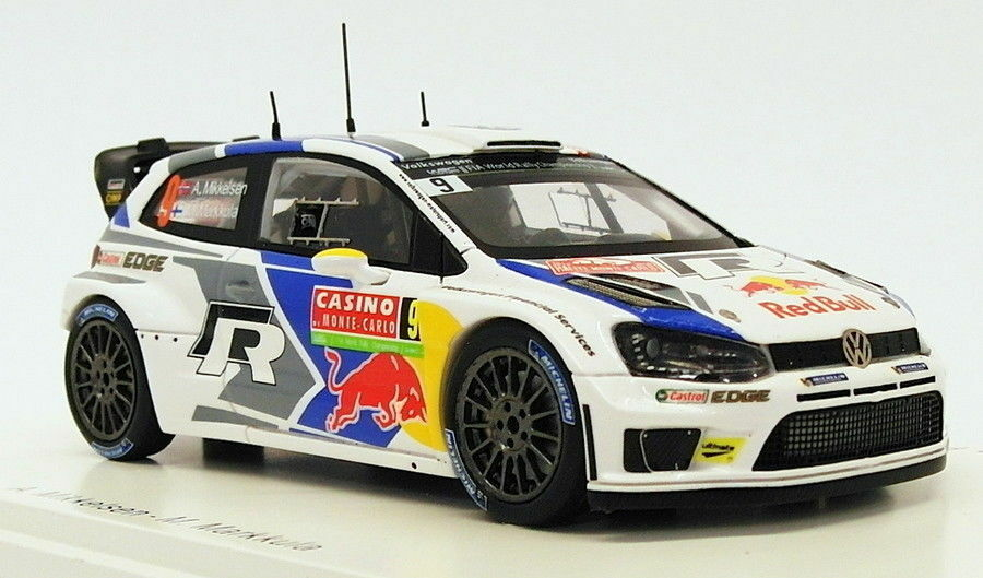 Spark 1 43 Scale S3359 - Volkswagen Polo R WRC  8 - 2nd Monte Carlo 2013