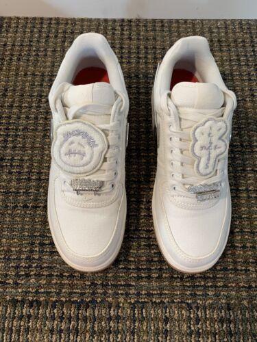 Nike Air Force 1 Low Travis Scott Sail Size 9.5 Ca
