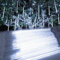 Meteor Shower Falling Star/rain Drop/icicle Snow Led Xmas Tree String Light Us