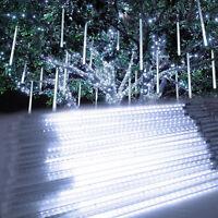 Meteor Shower Falling Star/rain Drop/icicle Snow Led Xmas Tree String Light Us