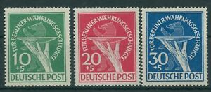 Germany-Berlin-vintage-yearset-1949-Mi-68-70-Mint-MNH-Tested