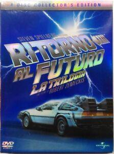 Dvd-Ritorno-al-Futuro-La-Trilogia-Collector-039-s-Edition-4-dischi-digipack-Usato