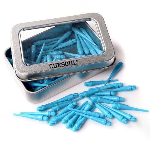 CUESOUL Soft Dart Tip Points 100 PCS Harrow 2BA Plastic For Electronic Dartboard