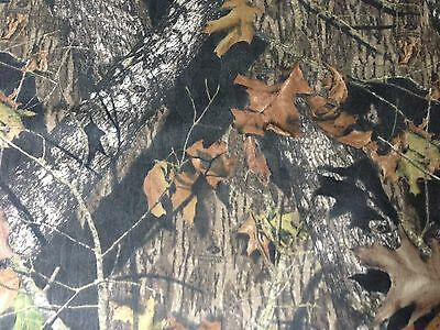 Mossy Oak Break-Up DWR Twill Fabric by the Yard - CAMO744
