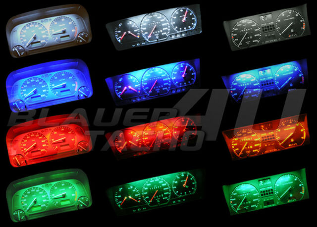 Smd Plug Led Vw Tacho Passat 35i amp;play Roter Leds OwP8n0Xk