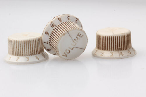 Miniskirt aged 54/' style knobs fits to Strat ®
