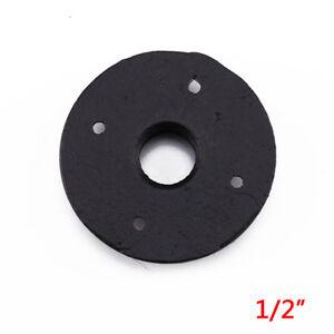 3//4 inch Black Cast iron Pipe Fittings Floor Flange BSP Threaded Hole UK Stock
