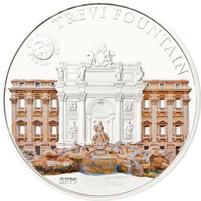 Palau 2013 $5 World of Wonders VII Namdaemun Seoul Korea 20g Silver Proof Coin