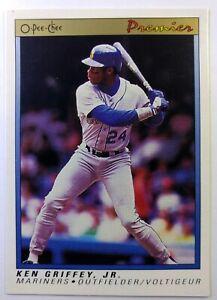 1991-91-O-Pee-Chee-Premier-Ken-Griffey-Jr-56-Seattle-Mariners-HOF