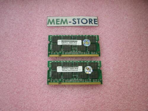 8GB 2x4GB DDR2 667Mhz PC2-5300 SODIMM Memory Dell Latitude D830 D630 upgrade