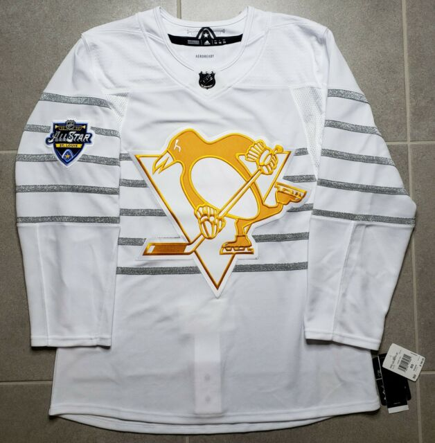 Pittsburgh Penguins White 2020 NHL All Star Authentic Adidas Pro Hockey Jersey