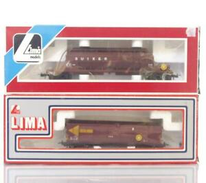 RARE-LIMA-309041-309071-SOUTH-AFRICAN-SAR-SAS-LIVERY-SUGAR-HOPPER-amp-OPEN-WAGONS