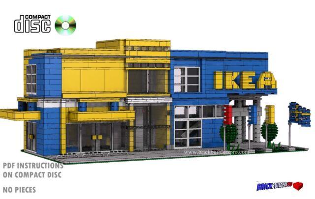 Cd Modular Swedish Furniture Lego Custom Instructions Cafe City Pdf