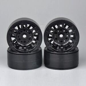1-9-034-27-5mm-1-10-Scale-RC-Model-Rock-Crawler-Car-Wheel-Rims-Black-4PCS