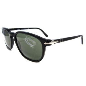 15f1378d26 Persol Sunglasses 3019 95/31 Black Green Mens 713132394052 | eBay