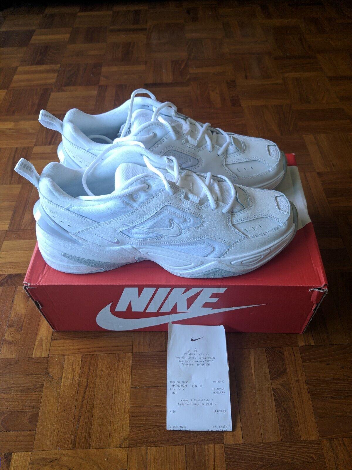Nike M2K Tekno White White Pure Platinum Men Size US 10 dad shoe