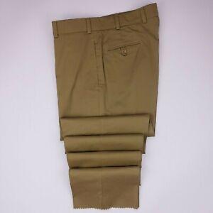 New-Bills-Khakis-Size-37-Tan-Flat-Front-Chamois-Pants-Mens-Nwt-Cotton-Sz-M2-Fit