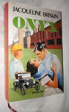 ONYX Jacqueline Briskin Euroclub 1983 Narrativa Romanzo Classici Contemporanea