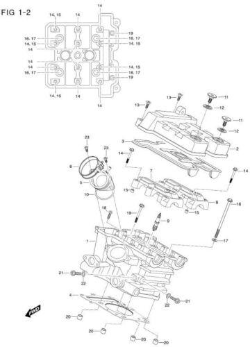 Hyosung Intake Rear GT650R GV650 GT650 Comet Kasinski Neck Boot EFI Models