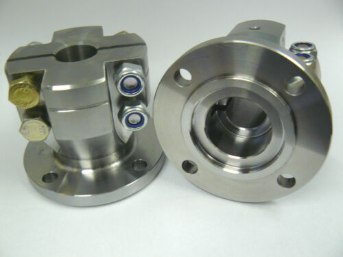 "R/&D  4/"" DIAMETER  MARINE CLAMP COUPLING-1/"" BORE-BORG WARNER,PRM,HURTH GEARBOX"