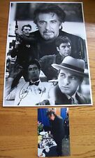 Al Pacino 12x16 Signed (At a Private Signing) Montage Photograph AFTAL/UACC RD