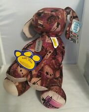 BAB Build a Bear JONAS Brothers DOG with necklace DOG TAG Browns Sept 2009 Intro