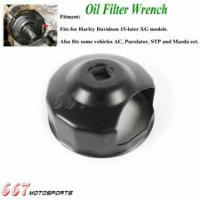 Oil Filter Cap Wrench Cup Socket Remover Tool For Harley Davidson 2015 2020 Xg