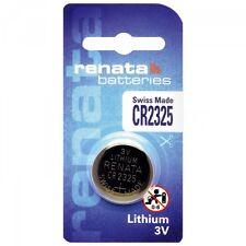 2 x Renata Batterie CR2325 Lithium 3V Knopfbatterie CR 2325 Knopfzelle