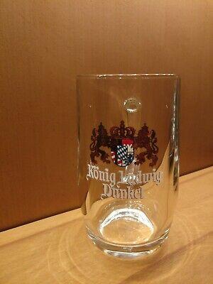 Bierkrug Bierseidel König Ludwig Dunkel Weissbier Bier 0,3l