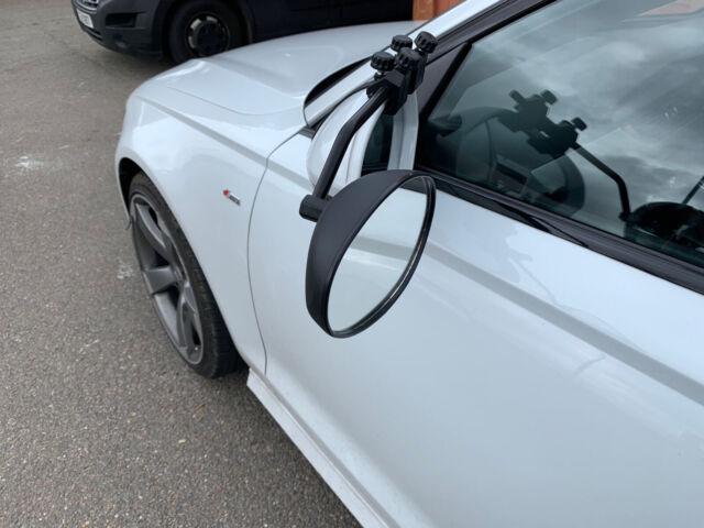 PREMIUM 2X caravan towing extension car wing mirrors fits Volvo S40 S60 940 C30