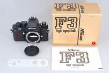 TOP MINT!! Nikon F3P HP Press SLR Film Camera in Original BOX From JAPAN #0921