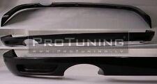 Vauxhall Opel Astra H III Twin Top Rear Bumper spoiler lip OPC look splitter MK5