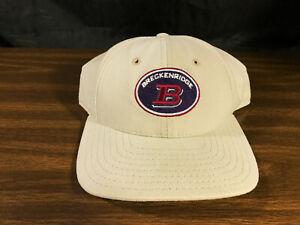 Details about Vintage Breckenridge Colorado Snapback Cap Hat Ski Resort  Legacy USA VGC