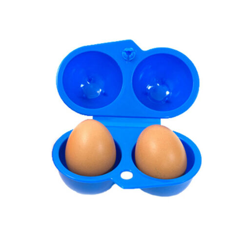 Egg Box Storage Container Food Holder Carry Lunch Organizer Tray Outdoors Case