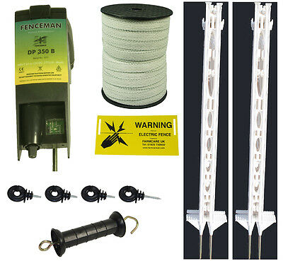 Everything You Need Electric Fencing Free P/&P Fence Paddock Kit