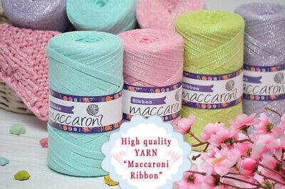 Knitting Tape Ribbon Yarn for Hand Knitting /& Chunky Knitting Machine 550g 1K