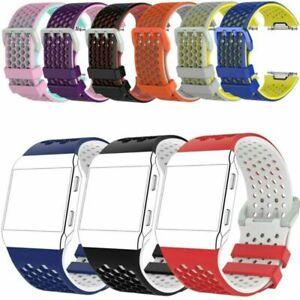 Fuer-Fitbit-Ionic-SmartWatch-Silikon-Armband-Uhrenarmband-Strap-Bracelet-NEU