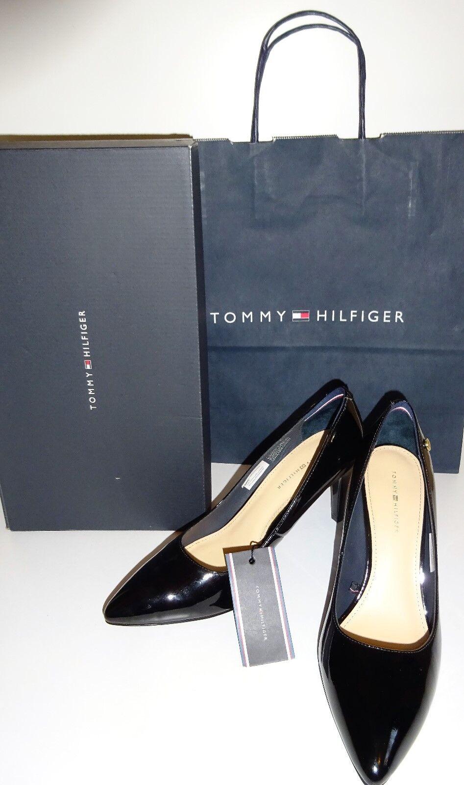 Tommy Hilfiger Pumps/High Heels  GR.40 schwarz  NEU