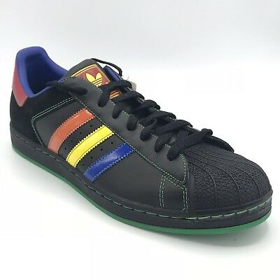 adidas superstar blue and yellow