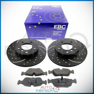 EBC-for-BMW-Z3-Z4-3er-E46-Sportbremse-Brake-Discs-300mm-Perforated-Front-Pads