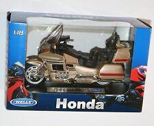 Welly-Honda Gold Wing-Moto Modelo Escala 1:18
