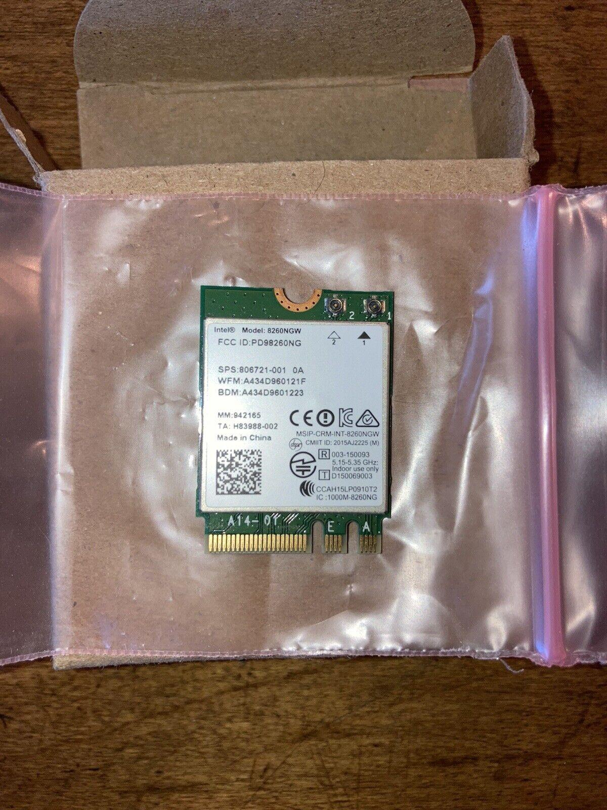 Intel Dual Band Wireless-AC 8260 WiFi Bluetooth Card