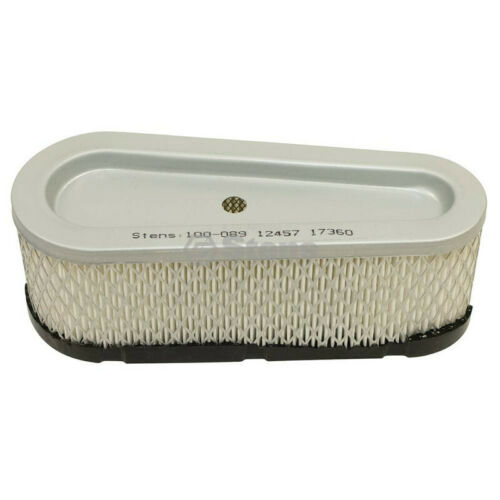 Briggs /& Stratton 196700 Air Filter Fits 257700 259700 28A700 Stens Replacement